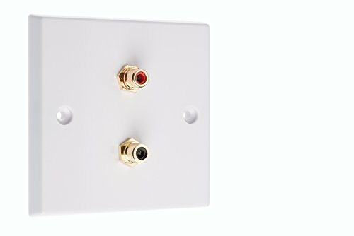 rca-phono-wall-plate-with-gold-female-to-female-rca-sockets-x2-no-soldering-required