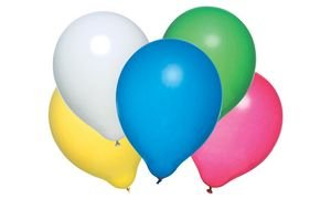 Luftballons, Farben Sortiert, 50 Stück ()