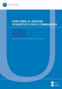 Guía para el análisis estadístico con R Commander (TEXTOS DOCENTS) por Victoria Alea Riera