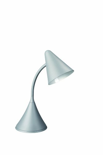 Massive Benny Lampe de Table Gris 1 x 60 W