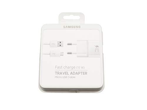 Samsung Micro USB Netzteil 15 Watt EU weiß Schnellladenetzteil Original inkl. Ladekabel Galaxy Tab S 10.5 Serie - Galaxy Für Tab Stromkabel Samsung