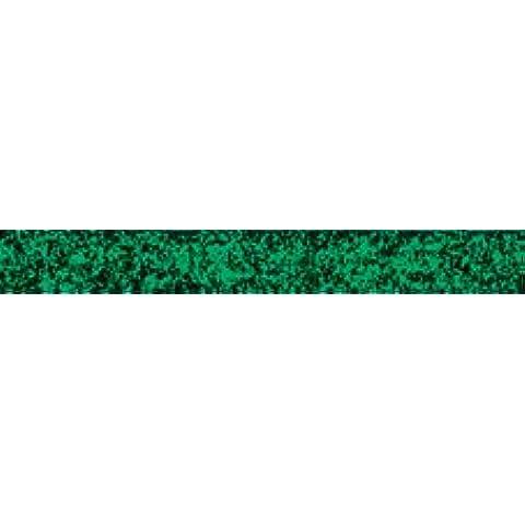Glitzy-Nastro in velluto, colore: verde, 10 X
