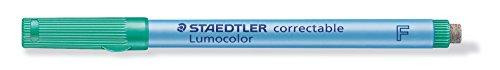Staedtler 305 F-5 Lumocolor correctable Folienstift F-Spitze, circa 0.6 mm, 10 Stück im Kartonetui,...