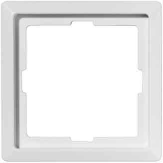 Merten ARTEC-Rahmen, 1 fach, polarweiß, 481119