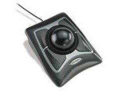 Kensington Expert Mouse, Kabellose Maus mit Trackball, Kompatibel mit Windows & macOS, 64325, Schwarz