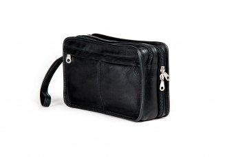 Harolds Country borsa uomo pelle 23 cm Nero