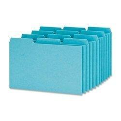 Esselte Pressboard Index Card Guides, Blank, 1/3 Cut, 4 x 6 Inches, 100 per Box, Blue (ESSP413) by Esselte (English Manual)