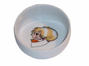 Trixie 6064 Meerschweinchennapf Keramik, mit Motiv, 0,3 l