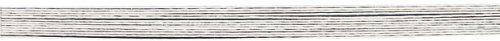 RAYHER hobby 2400502–calibre, recouvert de 50 cm, 1,6 mm de diamètre-sachet lot de 10–blanc