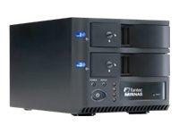 Fantec MR-35DRN NAS-System ohne Festplatten (2-Bay, SATA, Wlan, Raid) schwarz