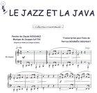 Partition : Le jazz et la java - Piano et paroles