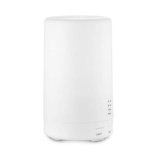 Mini umidificatore ad ultrasuoni per diffusore di olio essenziale di aroma essenziale per umidificatori per studio in camera da studio per studio di auto - Yoga bianco caldo