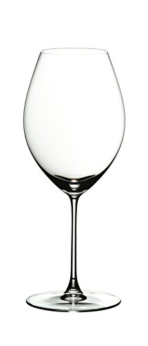 RIEDEL 6449/41 Riedel Veritas Old World Syrah, 2-teiliges Rotweinglas Set, Kristallglas