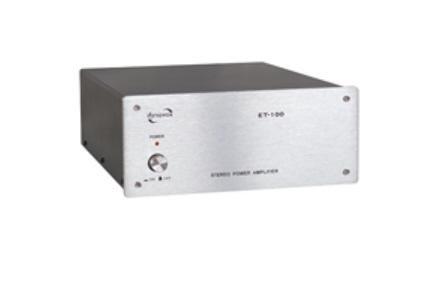 DynaVox ET-100 Stereo-Endstufe silber