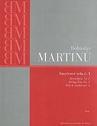 BARENREITER MARTINU BOHUSLAV   STREICHTRIO N°1   PARTIES SEPAREES