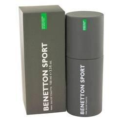 Benetton Sport Eau De Toilette Spray By Benetton - 3.3 oz -