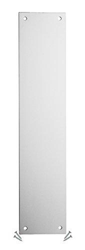 Plaque poussée pour porte aluminium-350x 75mm-1,2mm-Angle