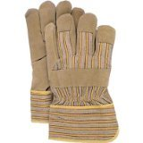 BOSS Handschuhe 2302Split Schweinsleder Leder Palm Handschuhe (Cat-split-leder)