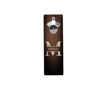 Monogramm Wand montiert Flaschenöffner-Classic Style und langlebiges Design zu öffnen und Bier und Soda leicht in Style -