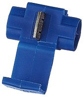 Scotch Lock - Snap locks Blue (16 Pack) Wire Cable