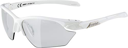 ALPINA Erwachsene Twist Five HR S VL+ Sportbrille, White, One Size