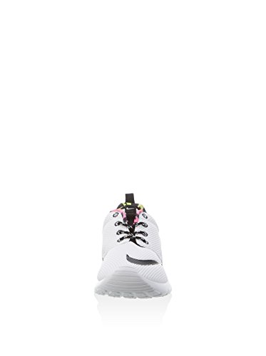 Nike - White / Black-Volt-Pink BLast, Scarpe sportive Bambino Bianco (Blanco (White / Black-Volt-Pink Blast))