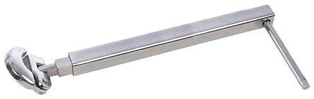 Silverline 479849 - Llave telescópica para tuercas de lavabo (278 - 455 mm)