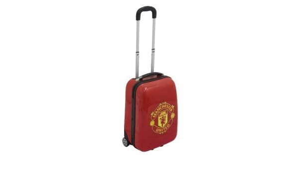 Manchester United Cabin ABS Trolley Suitcase: Amazon co uk: Electronics