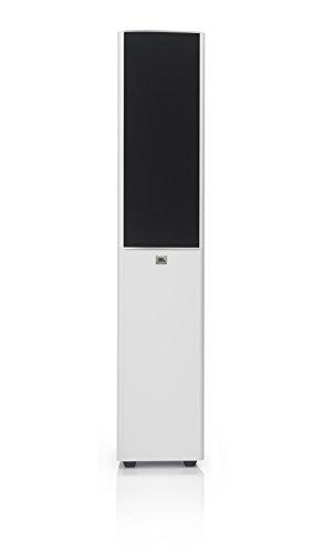 """JBL Arena 180 2-Wege Standlautsprecher mit zwei 7"""" (178 mm) Subwoofern und High Definition Imaging (HDI)-Waveguide-Technologie - Weiß"""