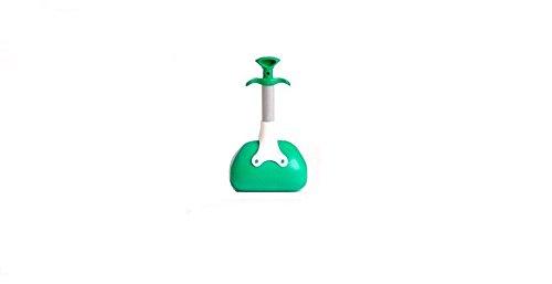 Zange Toilettenpapier Genial Griff kurz (23Centimeter) Zange sammeln Kot Abfall Hund Katze Produkte Reinigungskit für Haustiere Hunde Katzen