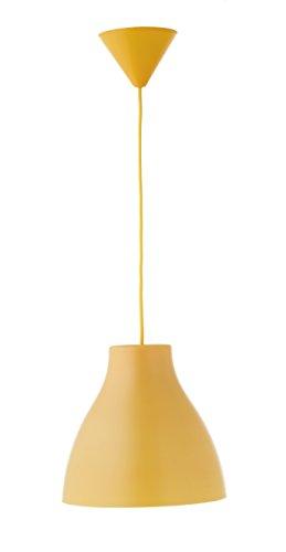 Els Banys Pop - Colgante de techo PVC con cable de color a juego, color mostaza