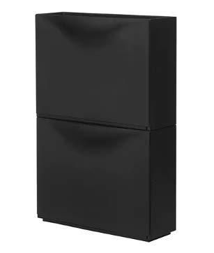 Ikea TRONES -Schuhschrank/Lager weiß / 3 Stück - 51x39 cm