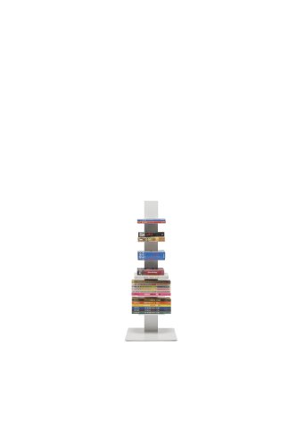 Bookcase Sapiens H.97cm (6 shelves) White