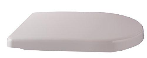 Preisvergleich Produktbild WC Sitz Valos, D-Form, Duroplast antibac, Soft-Close/Take off Scharniere, Pergamon