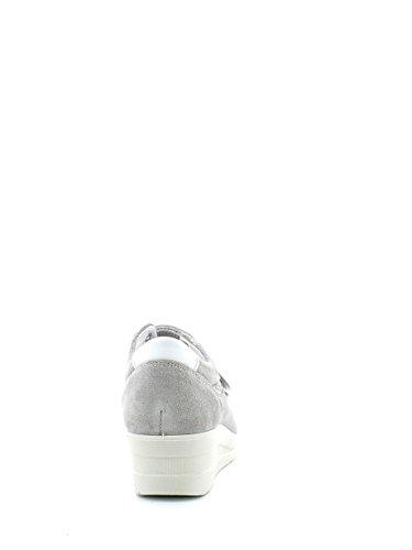 IGI & CO 37991 Perle sneakers zeppetta de sport chaussures femme chicots Blanc Cassé - nacr�