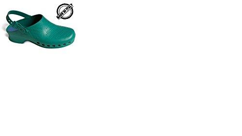 Zoccoli professionali reposa mod. complete eu 39/40 - verde
