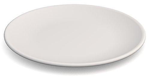 Ornamin assiette plate Ø 23 cm blanc mélamine (modèle 414)