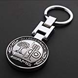 - Metall Mercedes Benz AMG Schlüsselanhänger Creative Zubehör Auto Parts SUV Auto Schlüsselanhänger