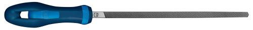 PFERD Vierkantfeile DIN7261 L.250mm Hieb2 Q.10mm m.Ergonomie-Feilenheft