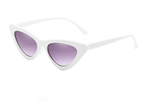 Wansan Vintage Oval Sonnenbrillen Eyewear Goggles für Frauen Männer Retro Sonnenbrille UV-Schutz