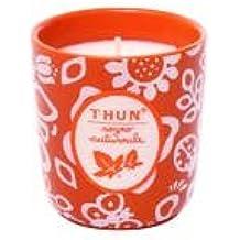 Thun vela pequeño de tarro Ensueño otoñal cerámica, cera 8,5cm H
