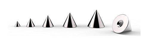 Ersatz-zapfen (Ersatz Zapfen für Bauchnabel/Brustwarze/Tragus/Labret/Zunge/Ohr/Hufeisen Piercings)