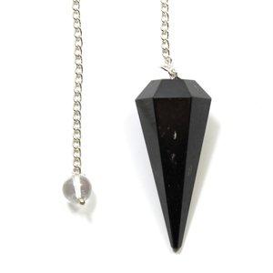 Negro Turmalina Cono curación piedras preciosas...