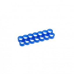 Preisvergleich Produktbild E22 14-Slot Stealth Kabelkamm - blau