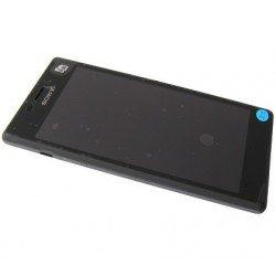 Bloc écran complet : LCD + Vitre tactile assemblés Sony Xperia M2 D2302 D2303 D2305 D2306 noir PN