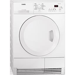 AEG T65370AH3 7kg Freestanding Condenser Tumble Dryer With Heat Pump White