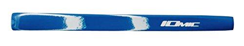 iomic Art Series Putter Griff 65g mittlere Größe, Opus Blue/White -
