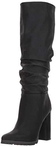 Flach Slouch Boot (Katy Perry Frauen Flache Sandalen Schwarz Groesse 8 US /39 EU)