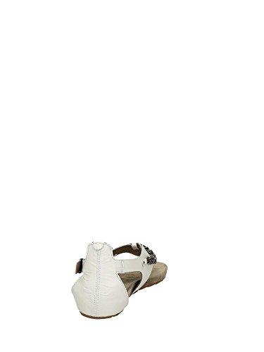 CAFèNOIR  Sandal, Tongs pour femme Blanc - Weiß (203 BIANCO)