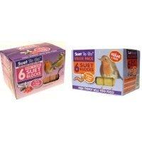 Suet To Go - 6 Suet Blocks - Berry & Bugs Recipe from Suet to go